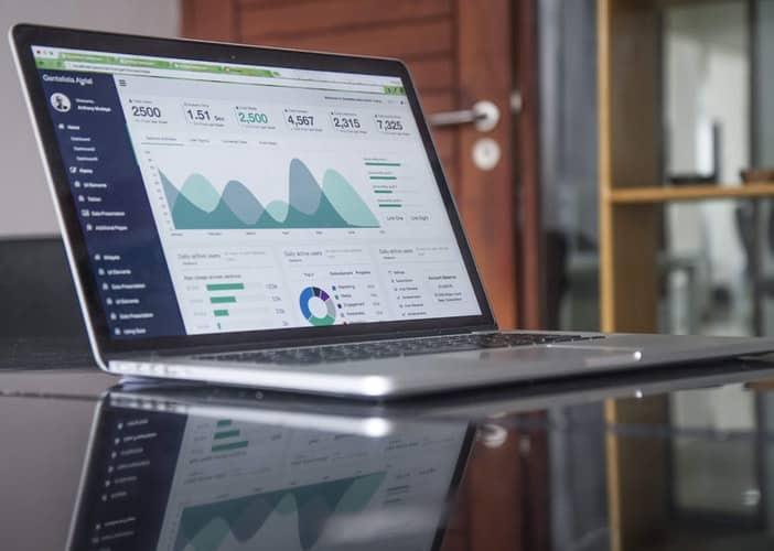 Tableau de bord de suivi des coûts de la logistique d'un site e-commerce