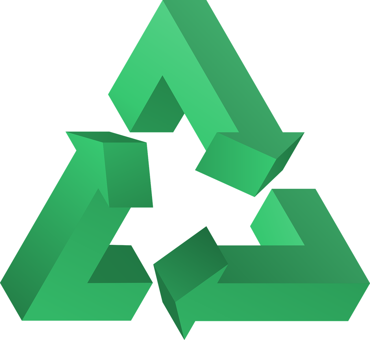 symbole du recyclage
