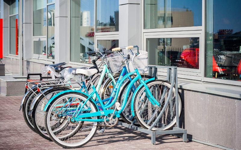 Parking vélo entreprise
